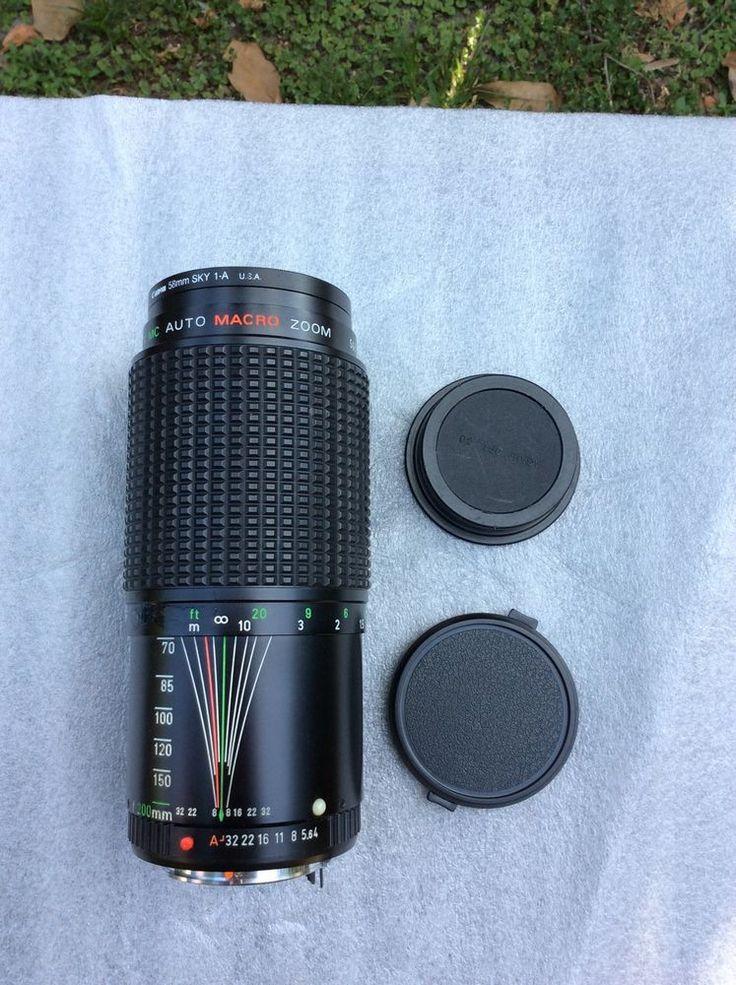 Cannon Tou/five Star Mc Auto Macro Zoom #5688338 #Canon