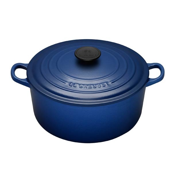 26Cm Cobalt Blue Round French Oven