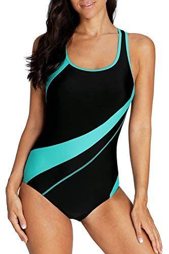 4e4f027801573 Sociala Womens One Piece Swimsuits Racerback Bathing Suit... https   www