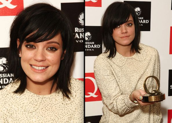 Lily Allen - one of my hairstyle muses