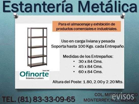 Venta Estantes Metálicos Nuevos.  Estantería Metálica en Venta.  Nueva, Resistente, para el almacenaje y exhibición de productos ...  http://monterrey-city-2.evisos.com.mx/venta-estantes-metalicos-nuevos-id-491800