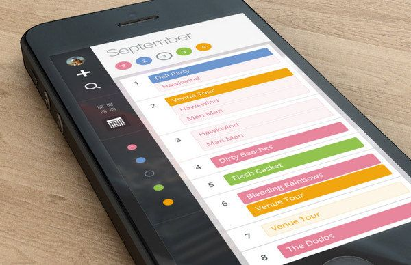 20 Eye-Catching Mobile Calendar Designs For Your Inspiration - Hongkiat