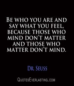My favorite Dr. Seuss quote ❤