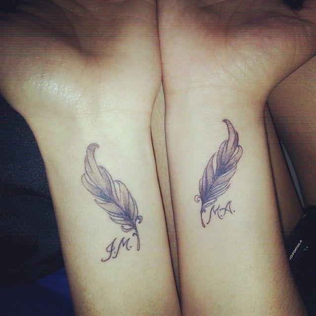 1000+ Ideas About Feather Tattoo Wrist On Pinterest