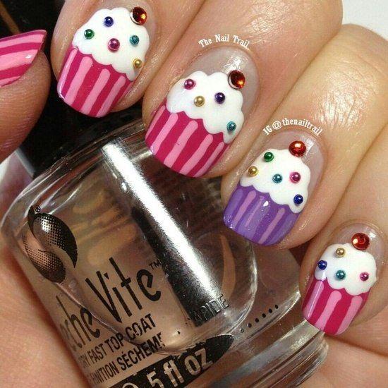 Best 25+ Cupcake nail art ideas on Pinterest | Cute kids ...