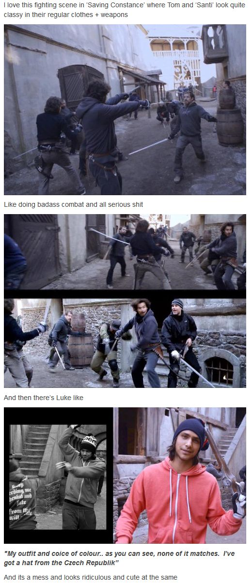 The Musketeers - Series 1 DVD extras