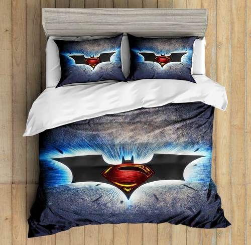 3d Custom Batman Vs Superman2 Bedding Set Duvet Cover Set Bedroom