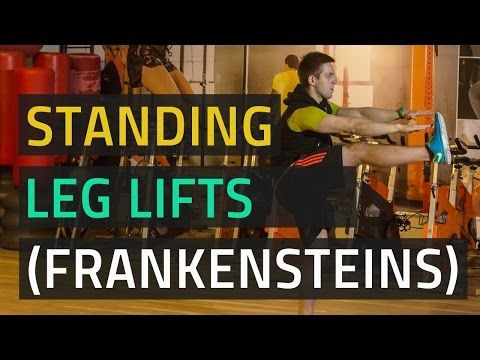 Standing Leg Lifts: Abdominal Exercise (With Pictures)