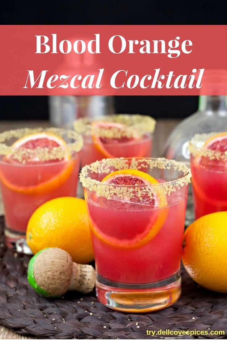 This Blood Orange Mezcal Cocktail recipe is a little smoky, a little sweet and a whole lot of perfect. Forget the normal tequila margarita.…