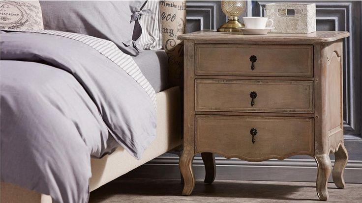 Home :: Bedroom :: Bedroom Furniture :: Bedside Tables :: Letoile 3-Drawer Bedside