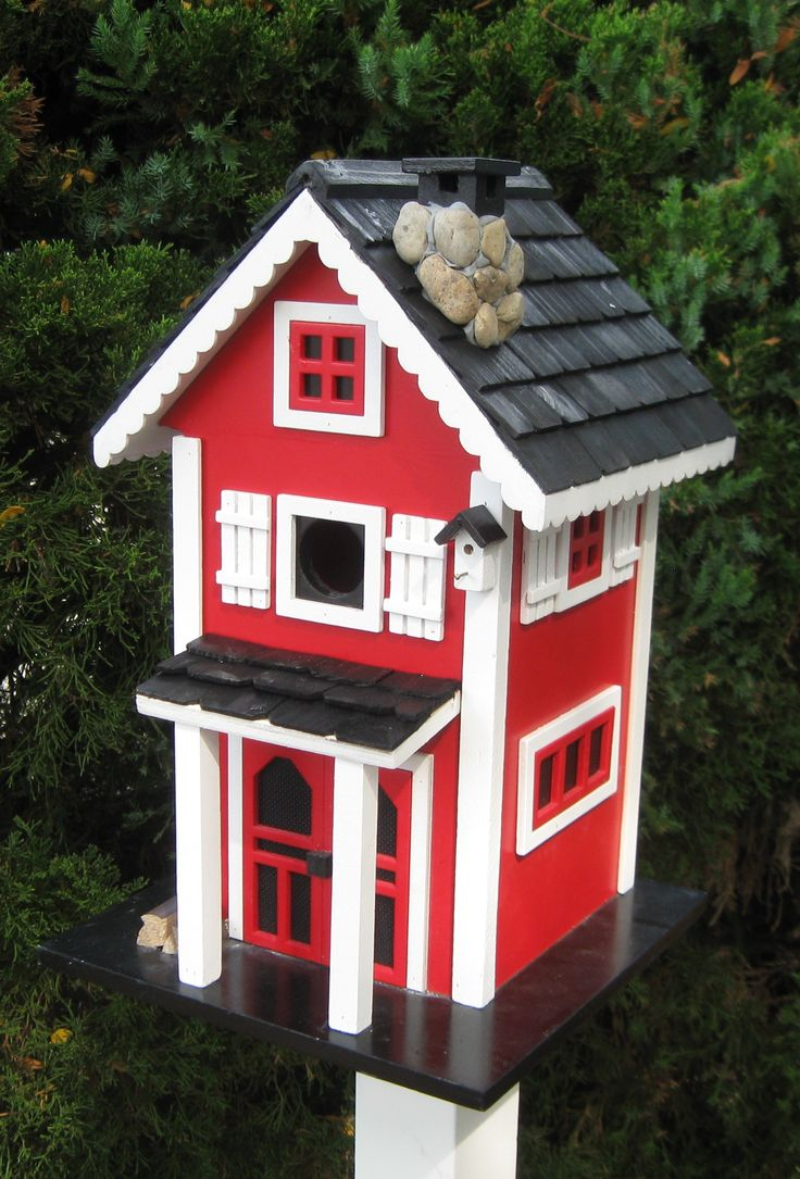 16 best images about cottage charmers on pinterest bird for Bird house styles