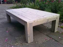 Afbeeldingsresultaat voor steigerhout salontafel