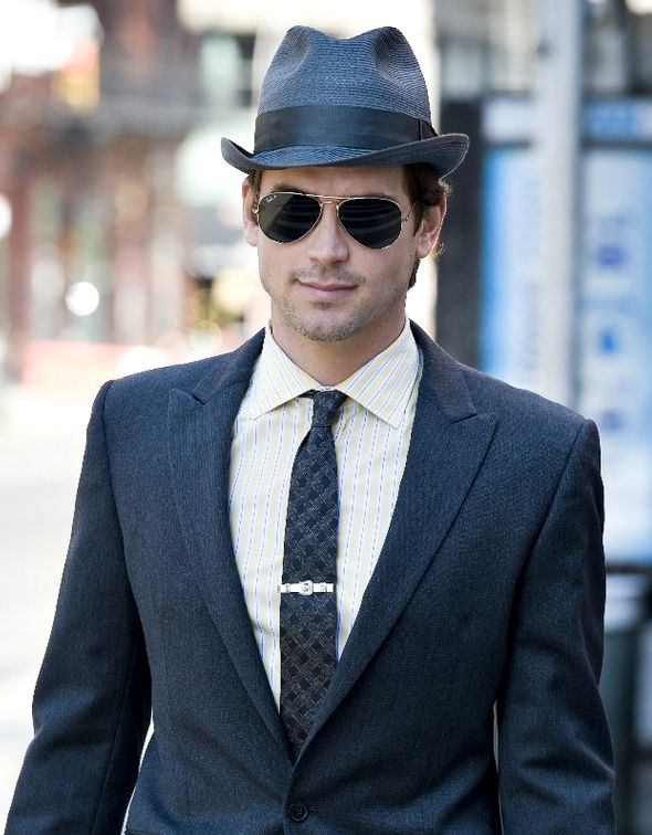 Matt Bomer is the only guy who could pull off a fedora ...