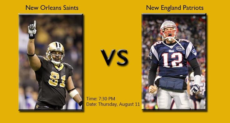 [@Saints vs Patriots] New Orleans Saints vs New England Patriots Games Live- Go Live: https://www.nflwebtv.net || http://www.nfl-schedule.net/saints-vs-patriotsnew-orleans-saints-vs-new-england-patriots-games-live/