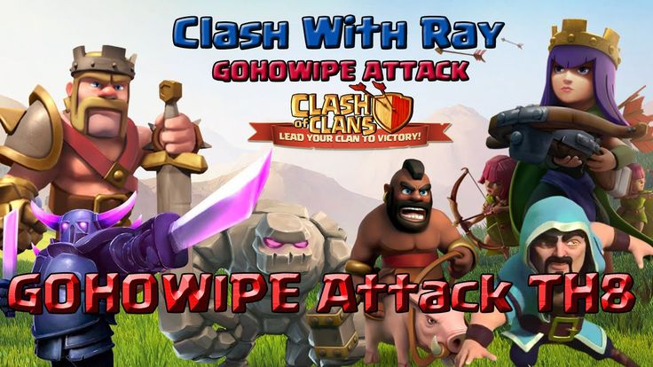 How To GOHOWIPE On TH8 | Clash Of Clans Attack Video | Clash With Ray  GOHOWIPE or HOGOWIPE attack strategy is a type of GOHO GOWIPE attack strategy. We can easiky get 3stars from any clash of clans base th8 th9 th10 th11. This gohowipe attack is an amazing gohowipe attack or hogowipe attack. GOHOWIPE and HOGOWIPE stand for golem hog wizard pekka attack strategy clash of clans war. This war attack is an important attack video clash of clans by which we can learn how to gohowipe th8 clash of…
