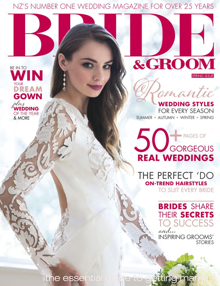 WILD JEWELS ON THE COVER OF BRIDE AND GROOM MAGAZINE - ISSUE 85 JUL - SEP 2015