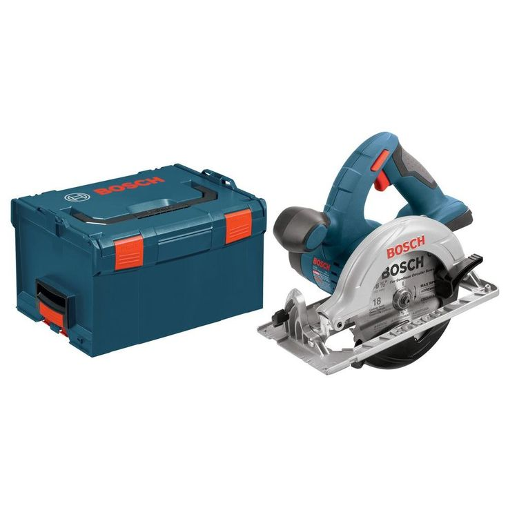 Bosch 18 Volt Lithium-Ion Cordless Electric 6-1/2 in. Power Circular Saw with Hard Case (Tool-Only)-CCS180BL - The Home Depot