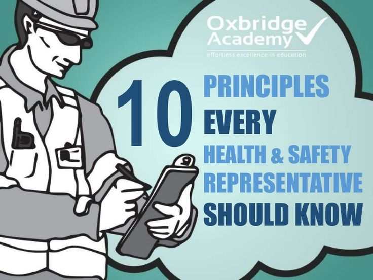 OHS representatives working in any kind of environment need to follow certain rules, regulations, and laws. But it is the SAFETY PRINCIPLES that help them do t…