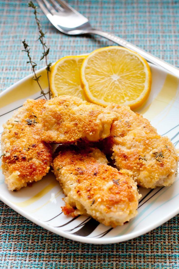 Parmesan Chicken Cutlets  #weightwatchers 4 sp