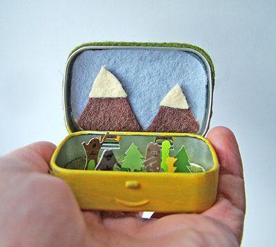 small world land: Tiny Cryptozoology Worlds