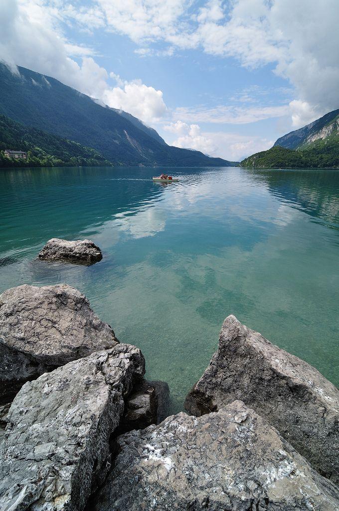 Lake Molveno, Trentino-Alto Adige, Italy