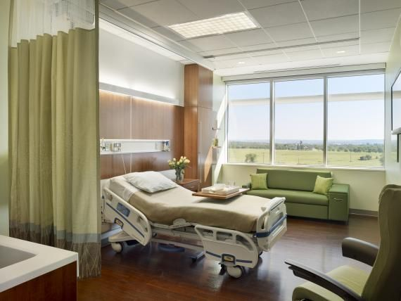 The main priorities for the patient room design at Einstein Medical Center  Montgomery included maximizing space around the bed and providing visual. The main priorities for the patient room design at Einstein