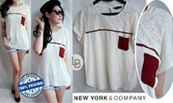 Jual NYC Broken White List Blouse hanya Rp 69.876, lihat gambar klik https://www.tokopedia.com/mamanya-zati/nyc-broken-white-list-blouse   #nyc #brokenwhite #list #blouse #bajumurah #branded #bajusantai