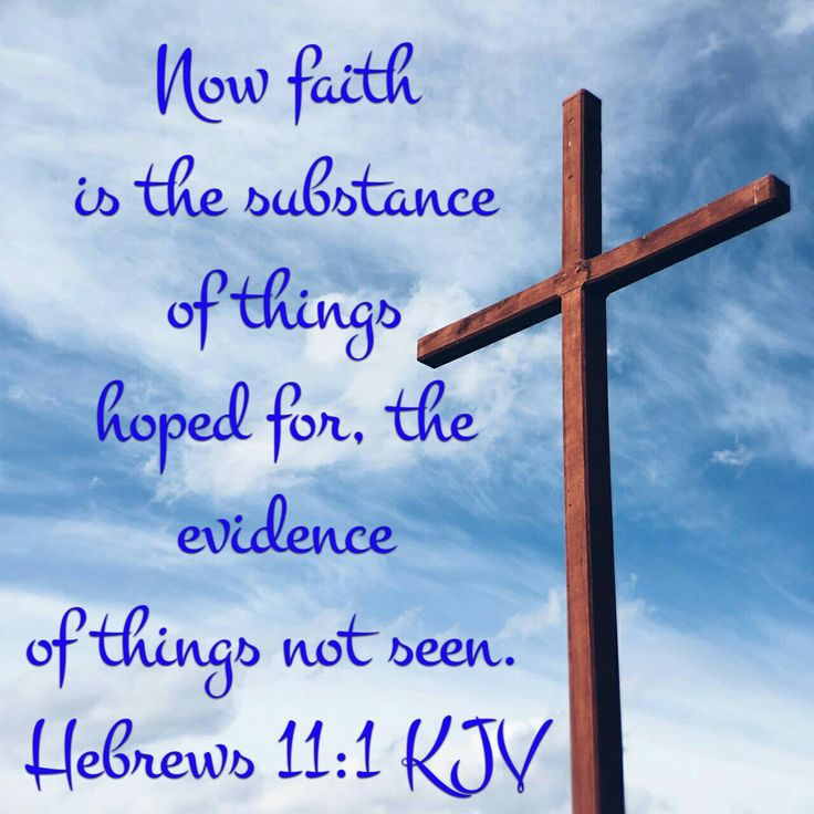 Hebrews 11:1 KJV