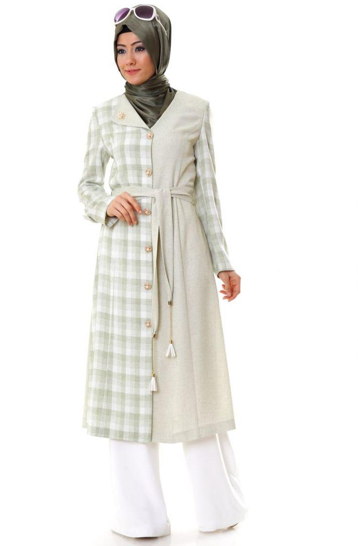"""Bufin Ekose Kap 7452 Yeşil Sitemize """"Bufin Ekose Kap 7452 Yeşil"""" tesettür elbise eklenmiştir. https://www.yenitesetturmodelleri.com/yeni-tesettur-modelleri-bufin-ekose-kap-7452-yesil/"""