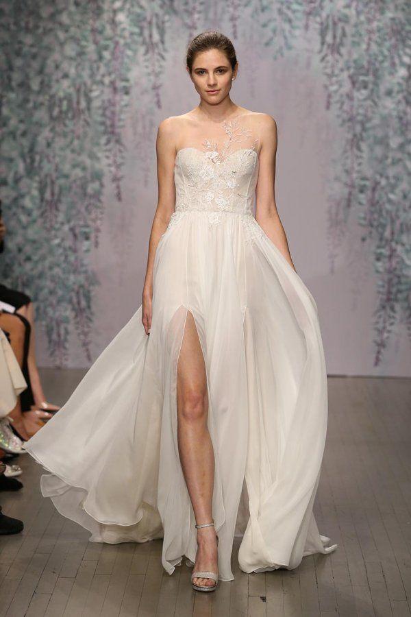 24 besten Monique Lhuillier Bilder auf Pinterest | Hochzeitskleider ...