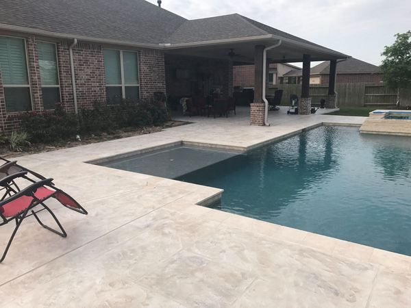 Perfect Whatever Look You Want On Your Concrete Deck, Pool Deck Overlays Will  Definitely Make It