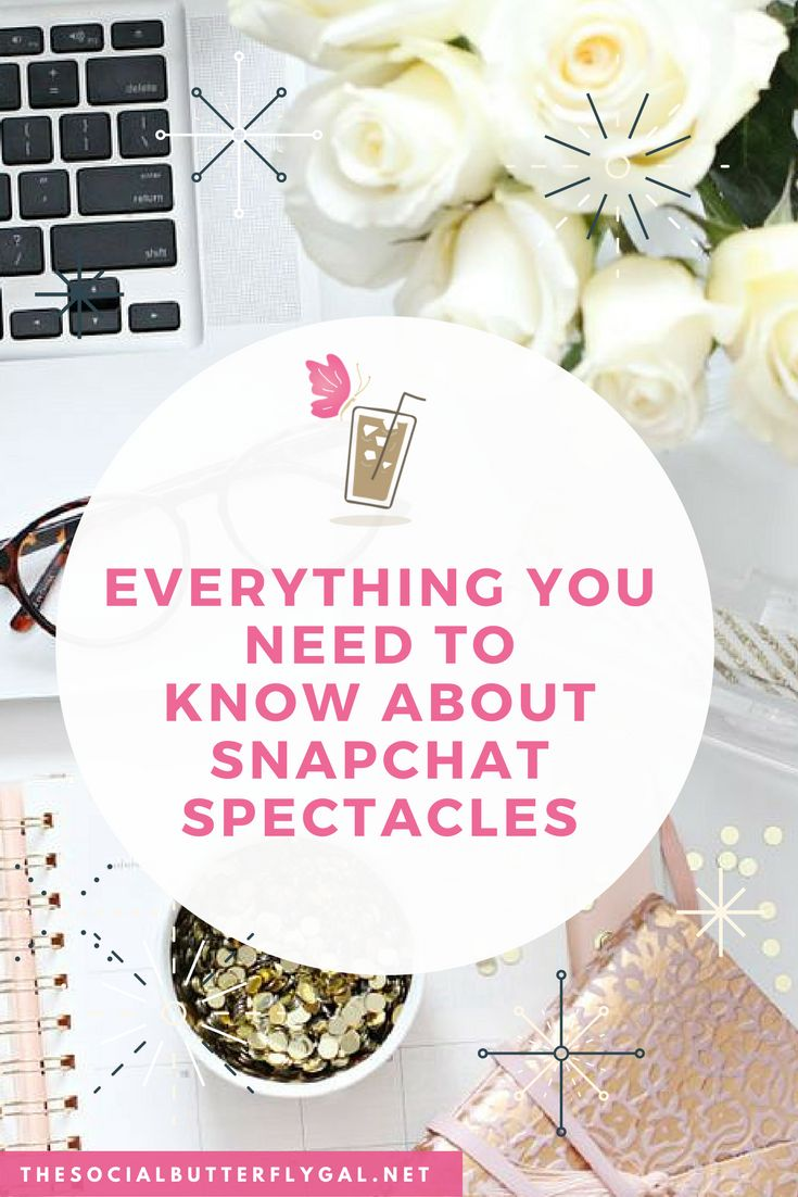 Everything You Need to Know about Snapchat Spectacles http://www.thesocialbutterflygal.net/2017/02/snapchat-spectales-everything-need-know/ #SocialMedia #Snapchat #Business