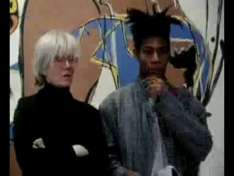[ Basquiat & Warhol ]  State of the Art, final episode. A series of documentaries about the visual arts in the 1980s. (To buy the DVD, please go to www.illuminationsmedia.co.uk)