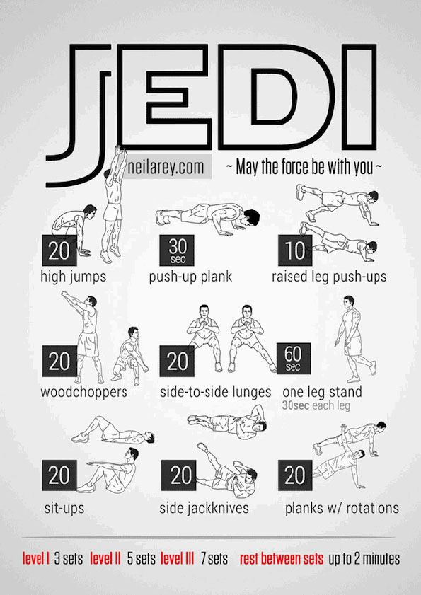Workouts Inspired By All Of Your Favorite Fandoms