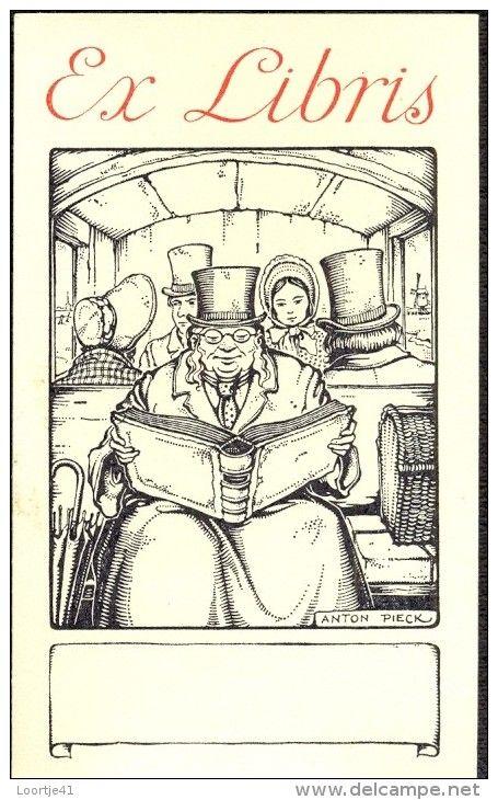 Anton Pieck (Netherlands, 1895-1987) ~ ex libris ~ Anton Franciscus Pieck was a…