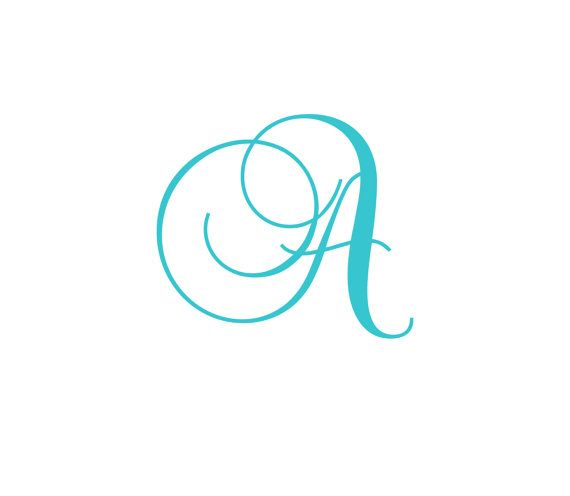 Wall decal cursive letters ~ Color the walls of your house