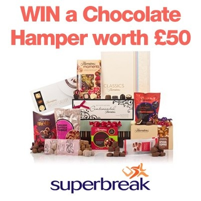 Re-Pin this image & Follow Superbreak on Pinterest to #WIN one of 2 luxury chocolate Hampers worth £50. Enter the full competition on our website! T+C's apply