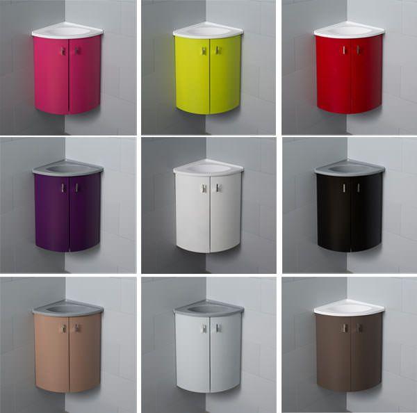 Atlantic Bain lance sa nouvelle collection de meubles d'angle avec lave-mains : découvrez nos meubles Salto !
