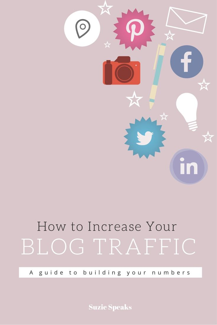 How to increase traffic to your blog - simple and easy ideas!