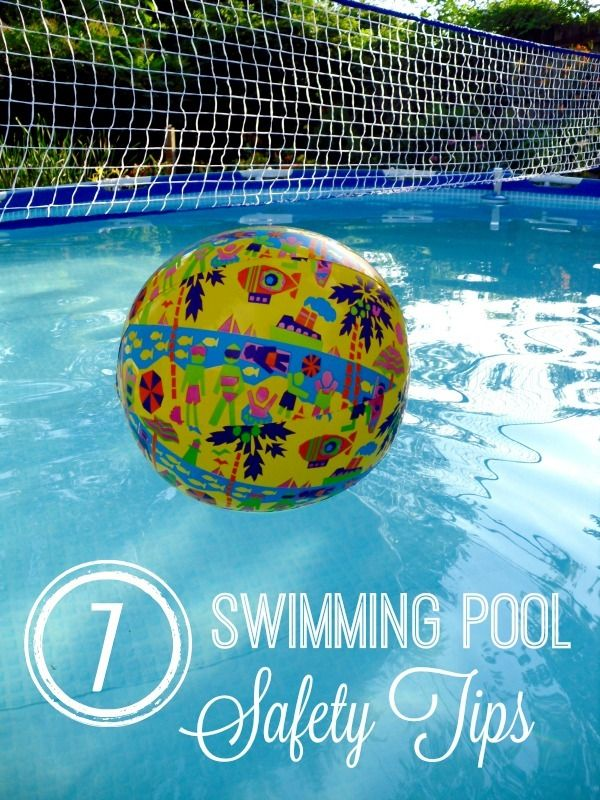 7 Swimming Pool Safety Tips It Is The O 39 Jays And Pools