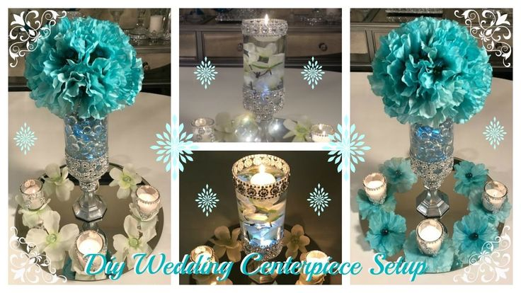 DIY - WEDDING CENTERPIECE  IDEAS AND AMAZE AWAY GIVEAWAY (CLOSED)