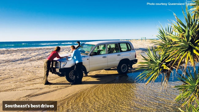 Counting the days 'til the weekend? Hit the road on a great drive in southeast Queensland