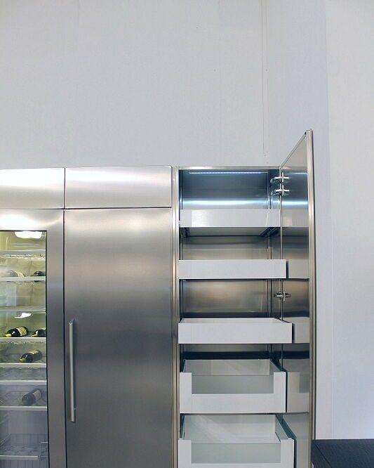 Arca Cucine Italia Cucine Domestiche Acciaio Inox ...