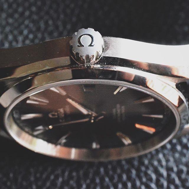 Crown game. Win!  Aqua Terra.  #omega#at#aquaterra#8500#womw#wotd#wis#watchporn#wristporn#watchesofinstagram#watchnerd#watchgeek#watchoftheday#watches#whatsonyourwrist by ktownwis