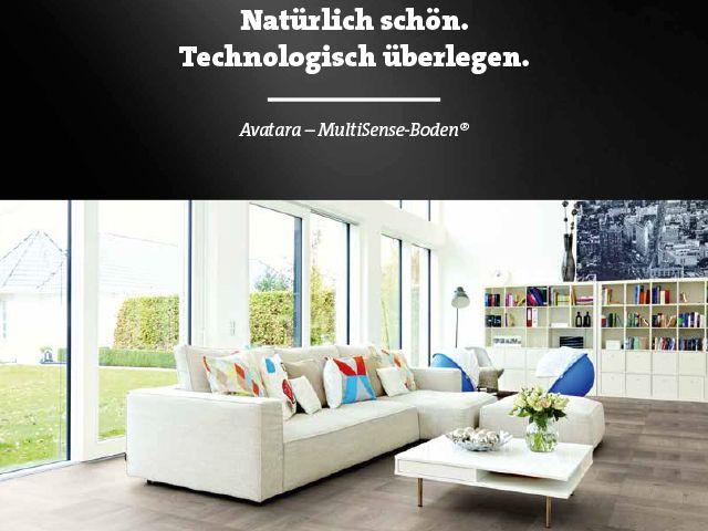"""""""Kein #Parkett, kein #Laminat und kein #Vinyl. #Avatara – der MultiSense-Boden® ist ein innovativer Boden, der sinnlich erfahrbar ist, optisch überzeugt und sich im Alltag dank seiner herausragenden Eigenschaften dauerhaft bewährt.  Entdecken Sie mit uns und Ihren Sinnen ein vollkommen wohngesundes Produkt für Ihr Zuhause. Sehen, fühlen und erleben Sie den MultiSense-Boden®."""" Besuchen Sie unsere Ausstellung in Kleinenbroich - Ramrath-Holz"""