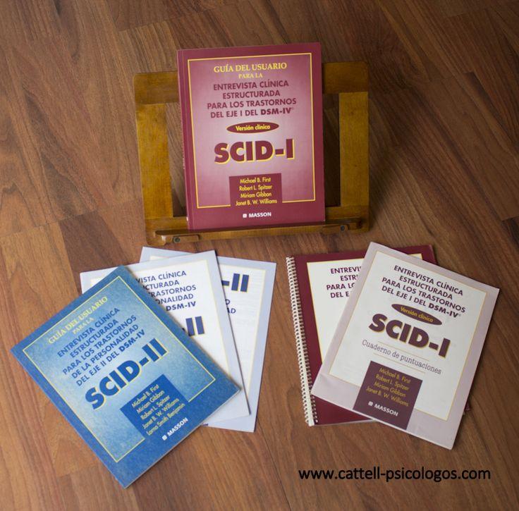 Entrevista clínica estructurada para los trastornos del Eje I de DSM-IV