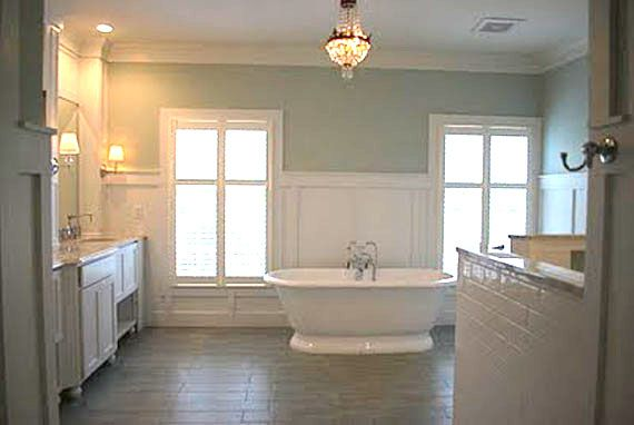 Master bathroom remodel to envy search subway tile - Bathroom remodel ideas with wainscoting ...