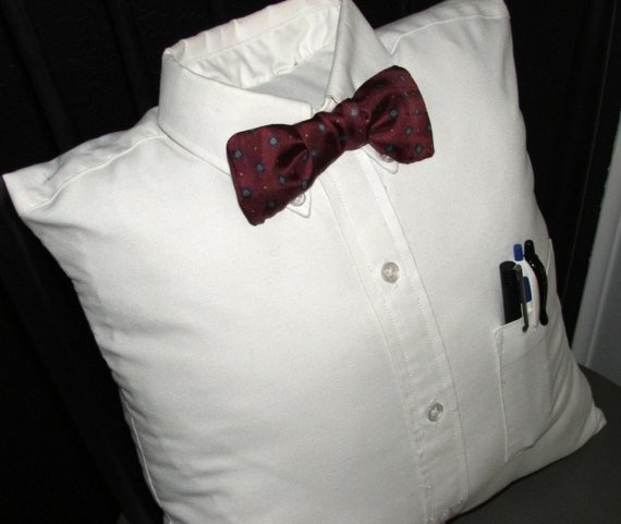 Nerdy Stuffed Shirt Pillow | She's crafty and she's just ...