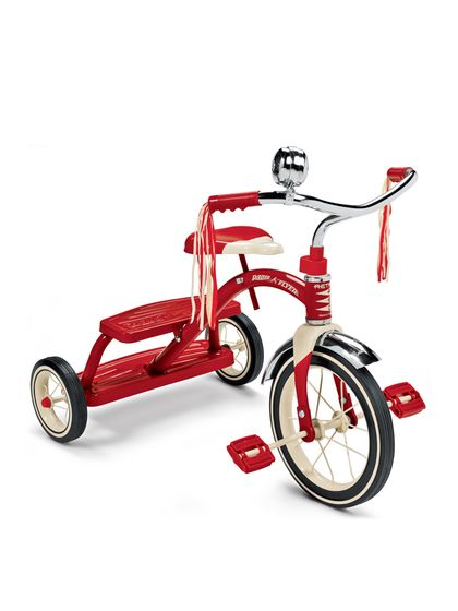 Classic Red Dual Deck Tricycle by Radio Flyer at Gilt