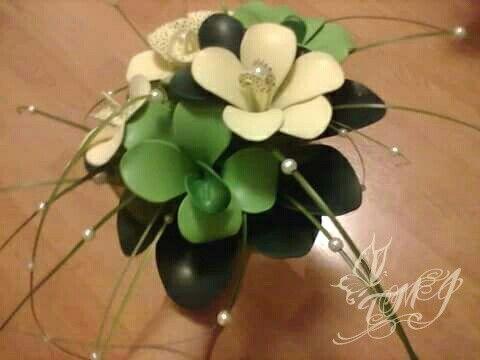 Balloon fantasy flower bouquet by TMJcreative. Lufi virág csokor.